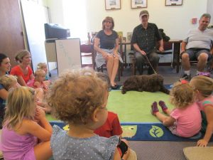 Children at story hour