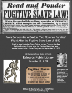 Fugitive Slave Law poster