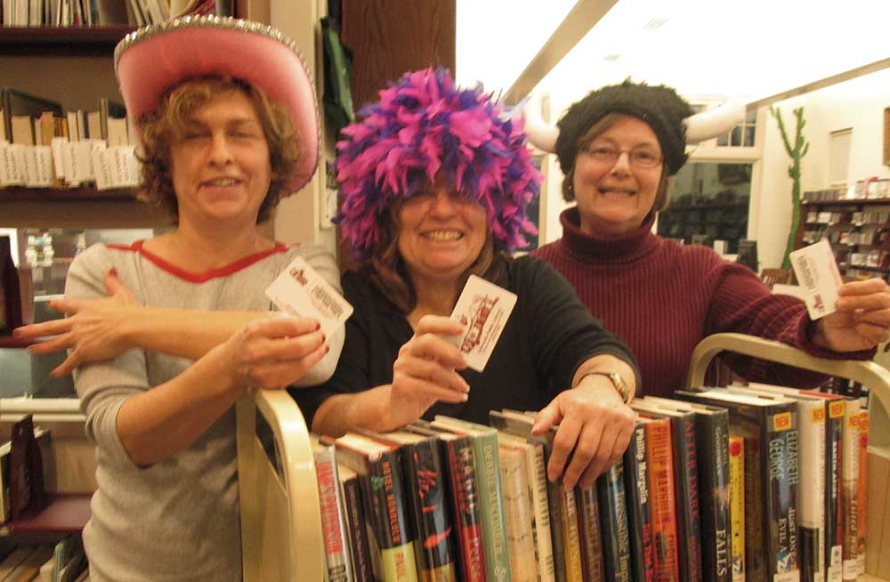Lisa Shea, Barbara Goldin, and Carol Goulet